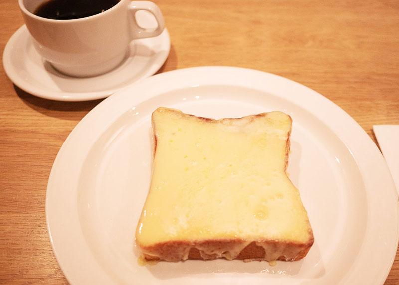 ラカンティーヌ チーズトースト1